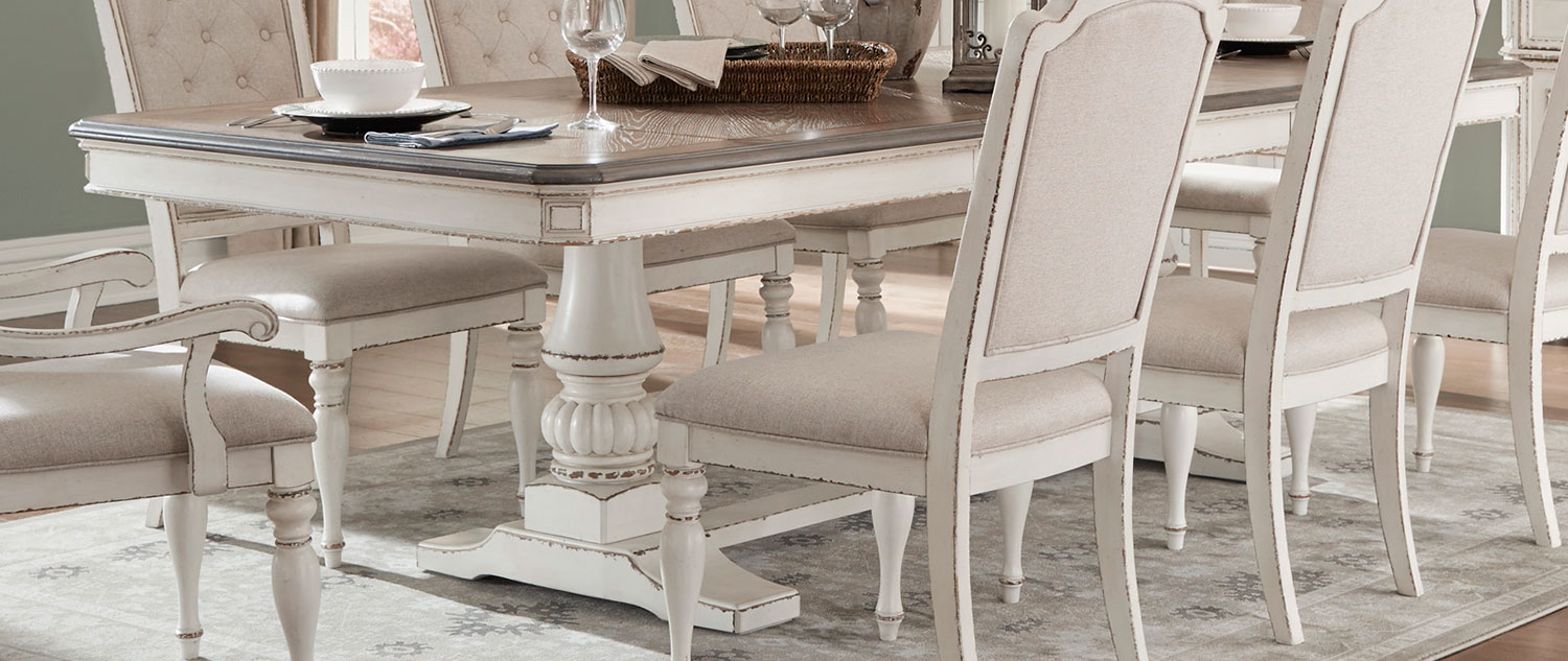 Homelegance Willowick Dining Table - Antique White