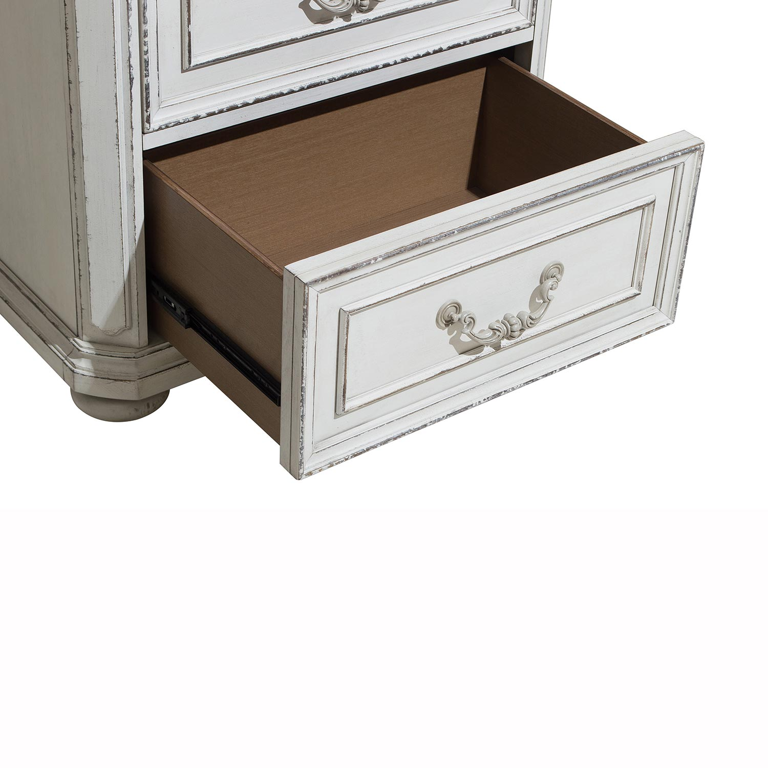 Homelegance Willowick Night Stand - Antique White