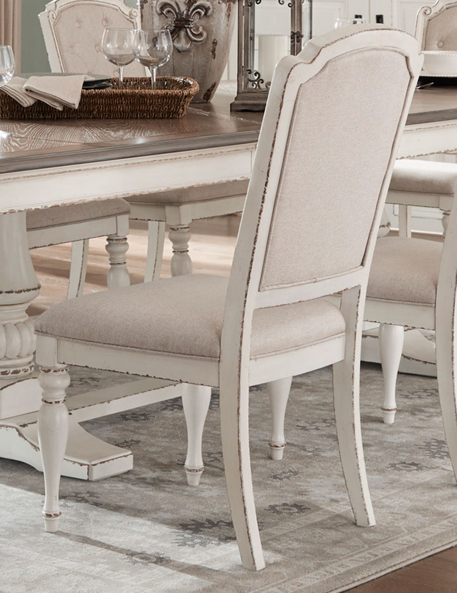 Homelegance Willowick Side Chair - Antique White