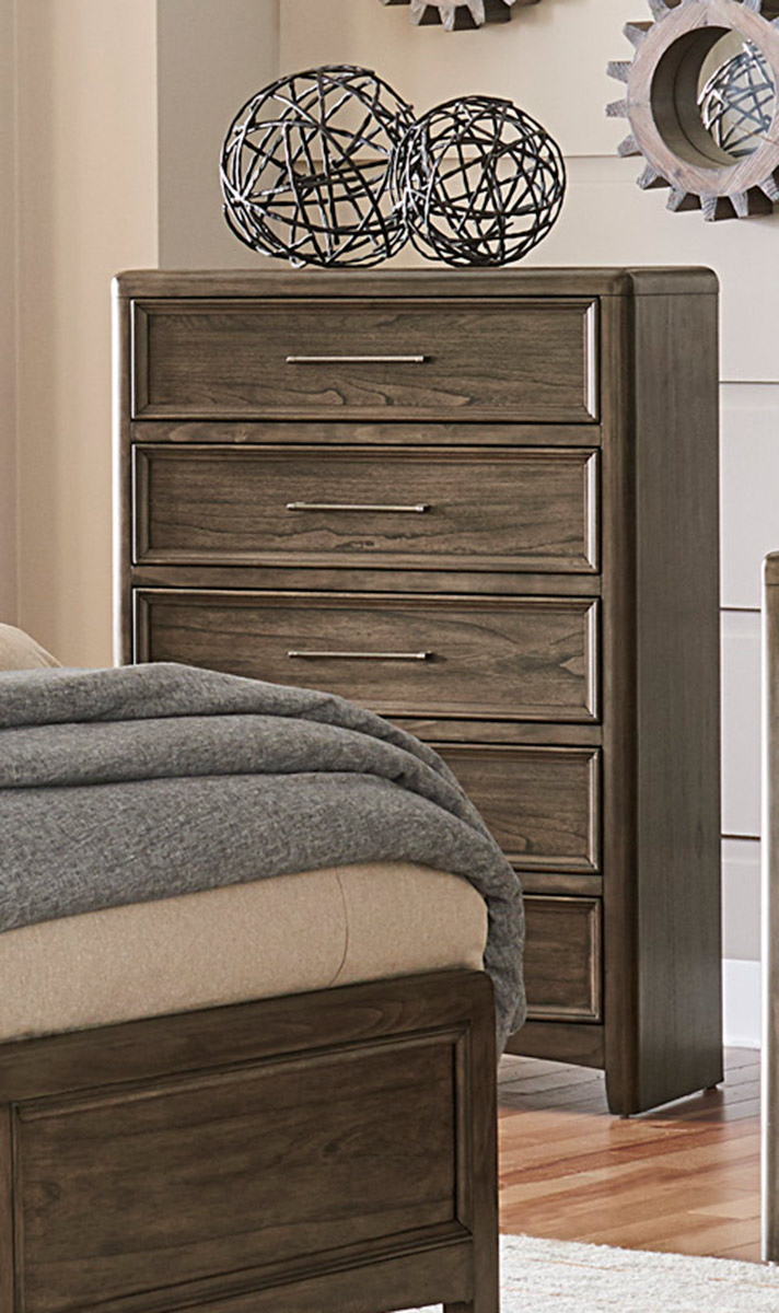 Homelegance Seldovia Chest - Brown Gray