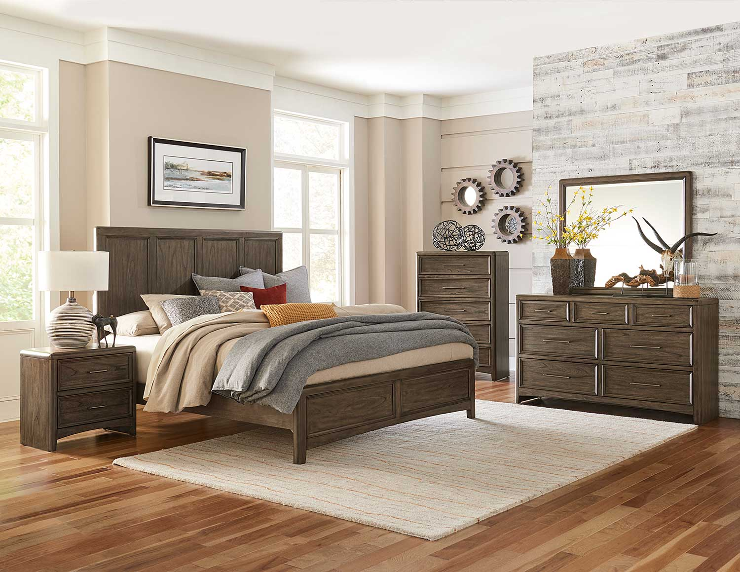 Homelegance Seldovia Bedroom Set - Brown Gray