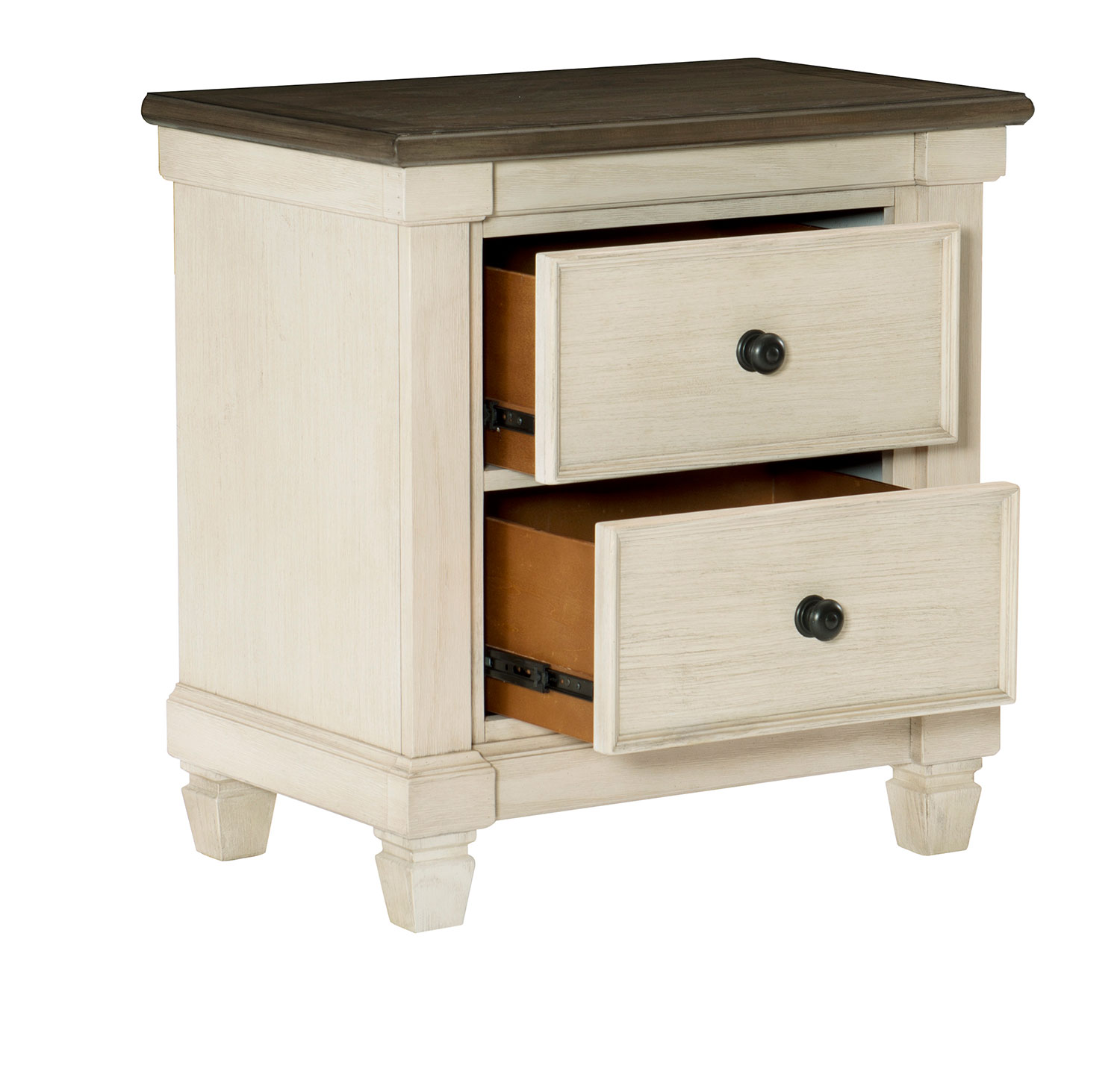 Homelegance Weaver Night Stand - Antique White