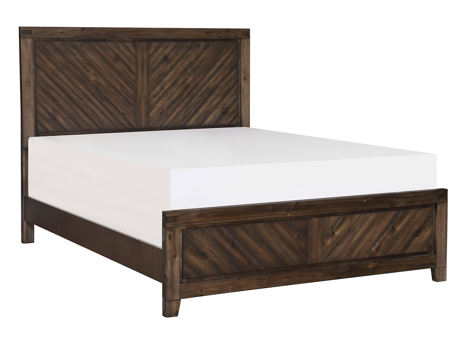 Homelegance Parnell Bed - Rustic Cherry