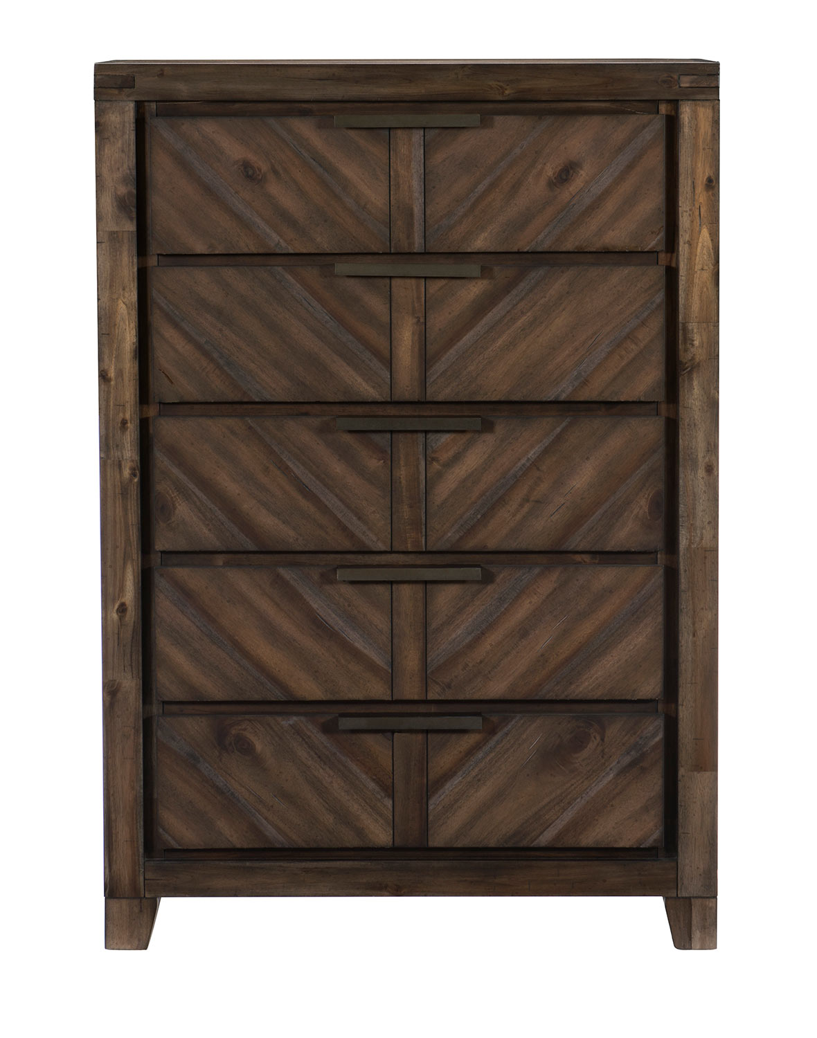 Homelegance Parnell Chest - Rustic Cherry
