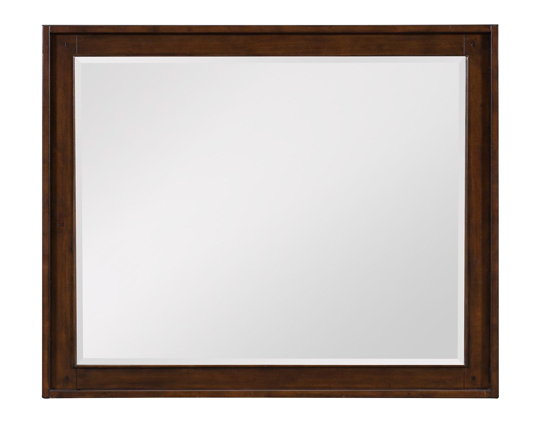 Homelegance Frazier Park Mirror - Brown Cherry