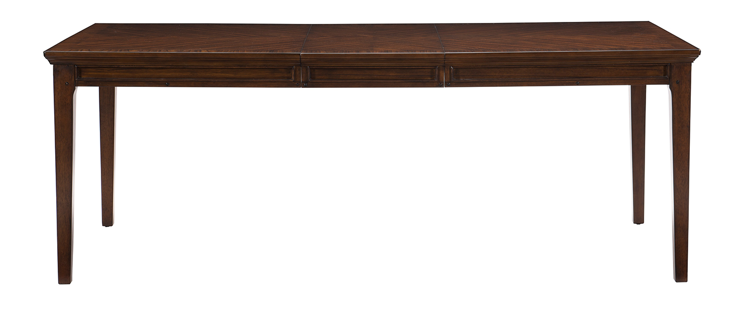 Homelegance Frazier Dining Table - Brown Cherry