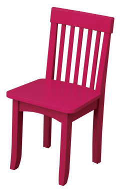 KidKraft Avalon Chair - Raspberry