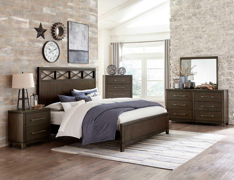 Homelegance Griggs Bedroom Set - Espresso