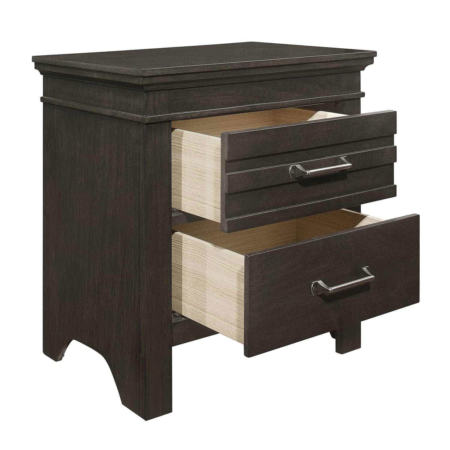Homelegance Blaire Farm Night Stand - Espresso