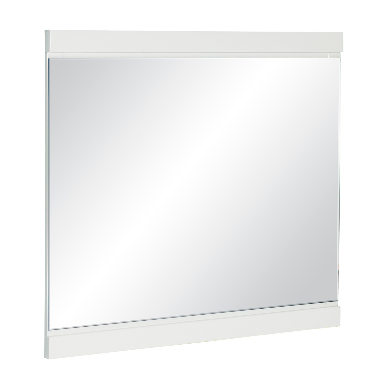 Homelegance Kerren or Keren Mirror - White High Gloss