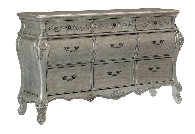 Homelegance Brigette Dresser - Silver-Gray