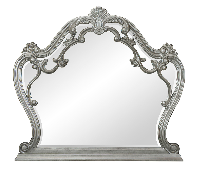 Homelegance Brigette Mirror - Silver-Gray