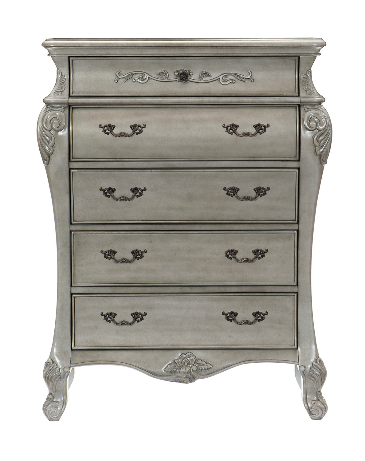 Homelegance Brigette Chest - Silver-Gray