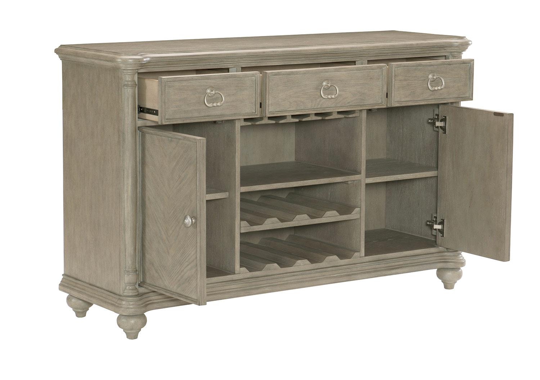 Homelegance Grayling Server - Driftwood Gray