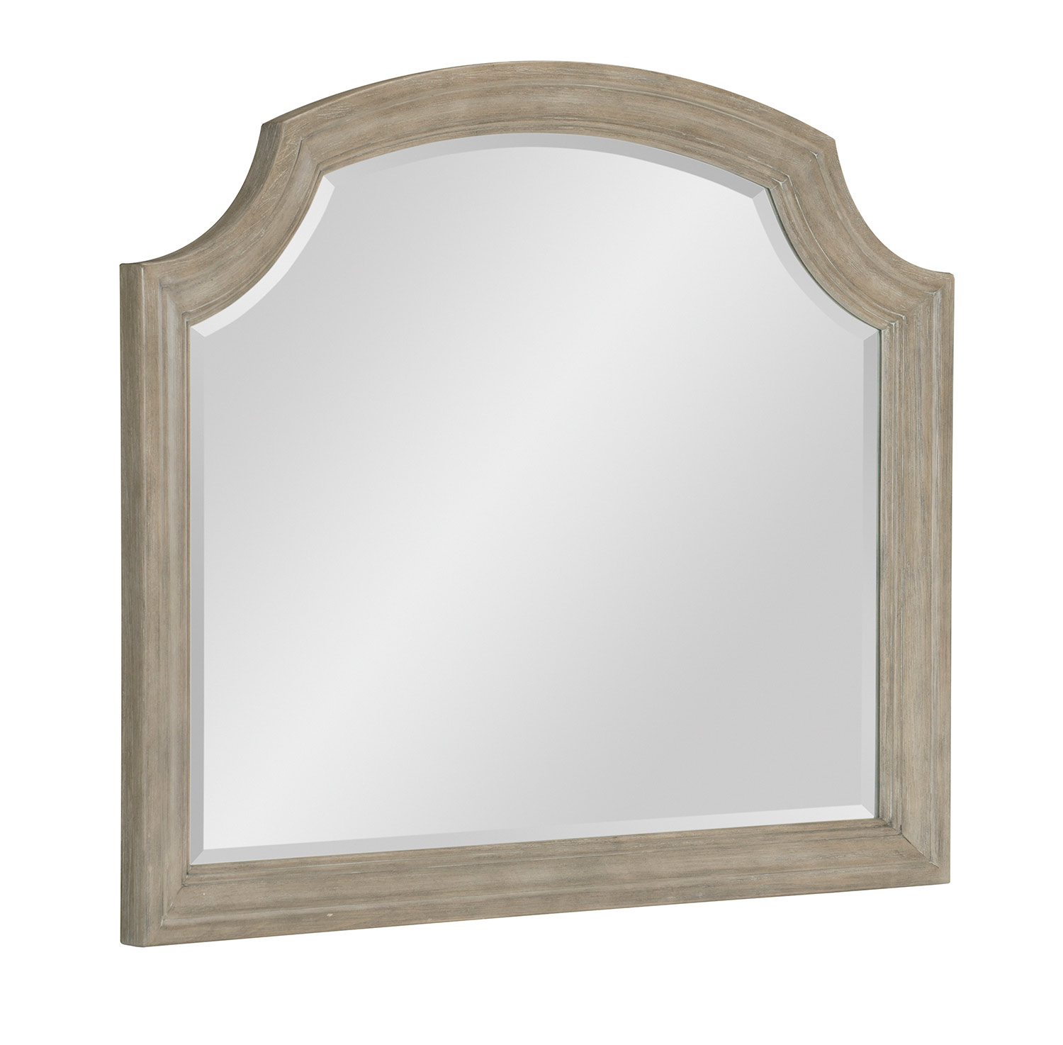 Homelegance Grayling Downs Mirror - Driftwood Gray