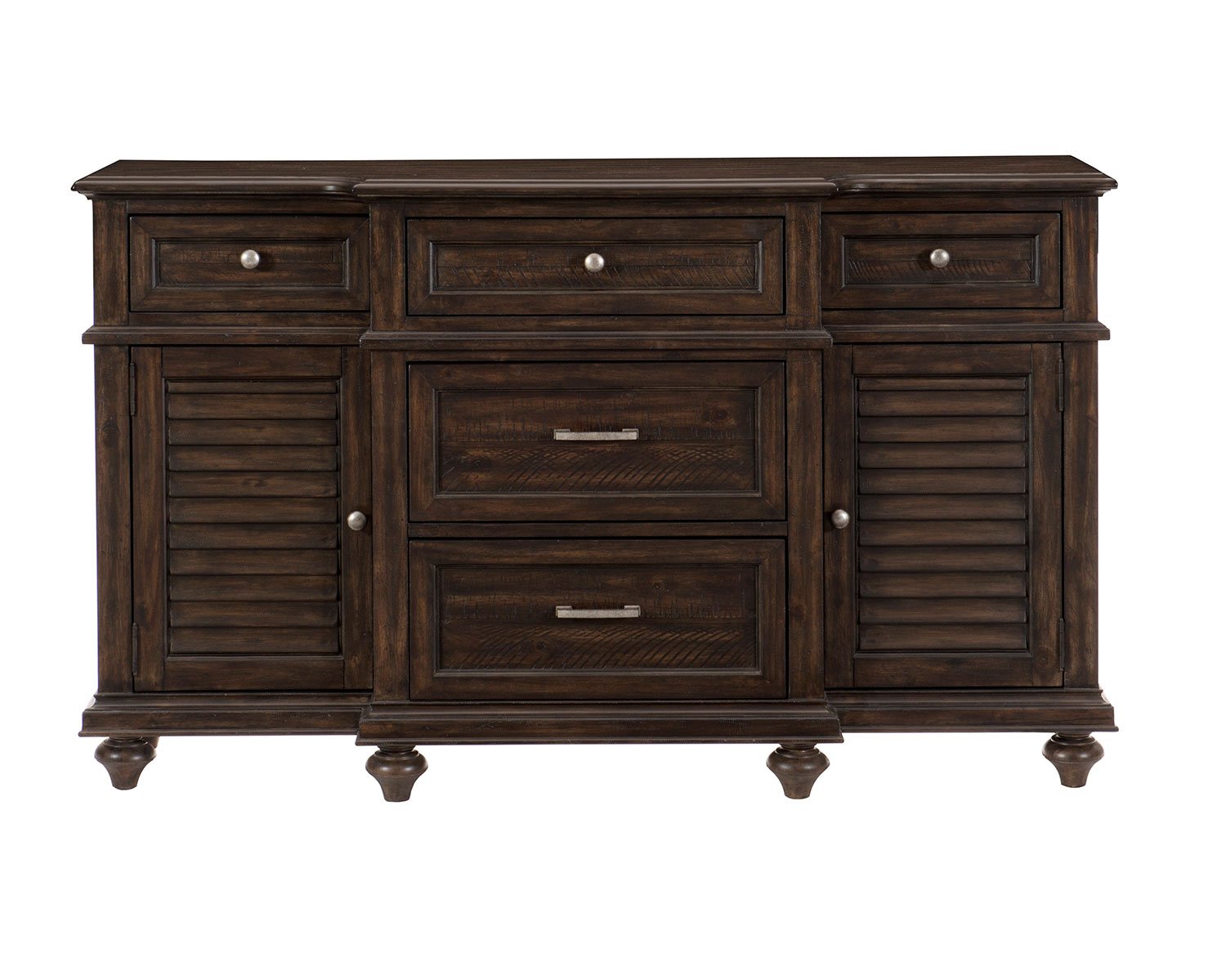 Homelegance Cardano Buffet / Server - Driftwood Charcoal