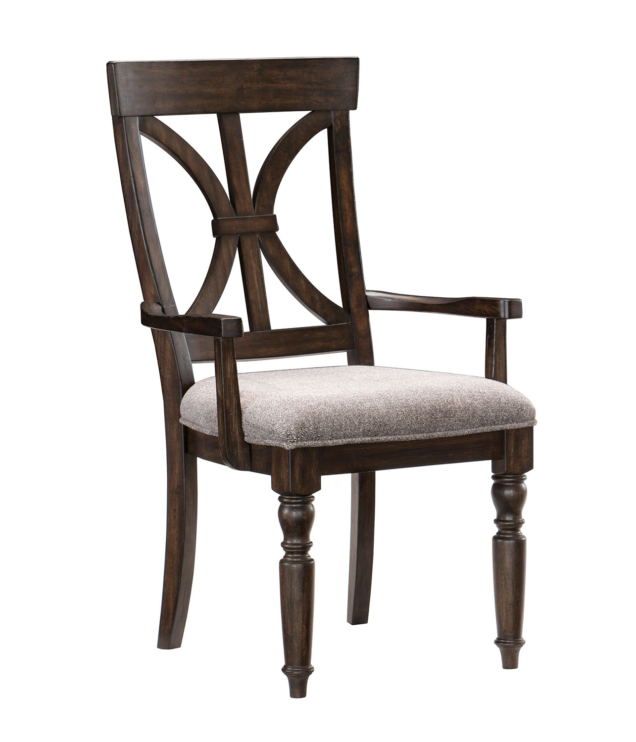 Homelegance Cardano Arm Chair - Driftwood Charcoal