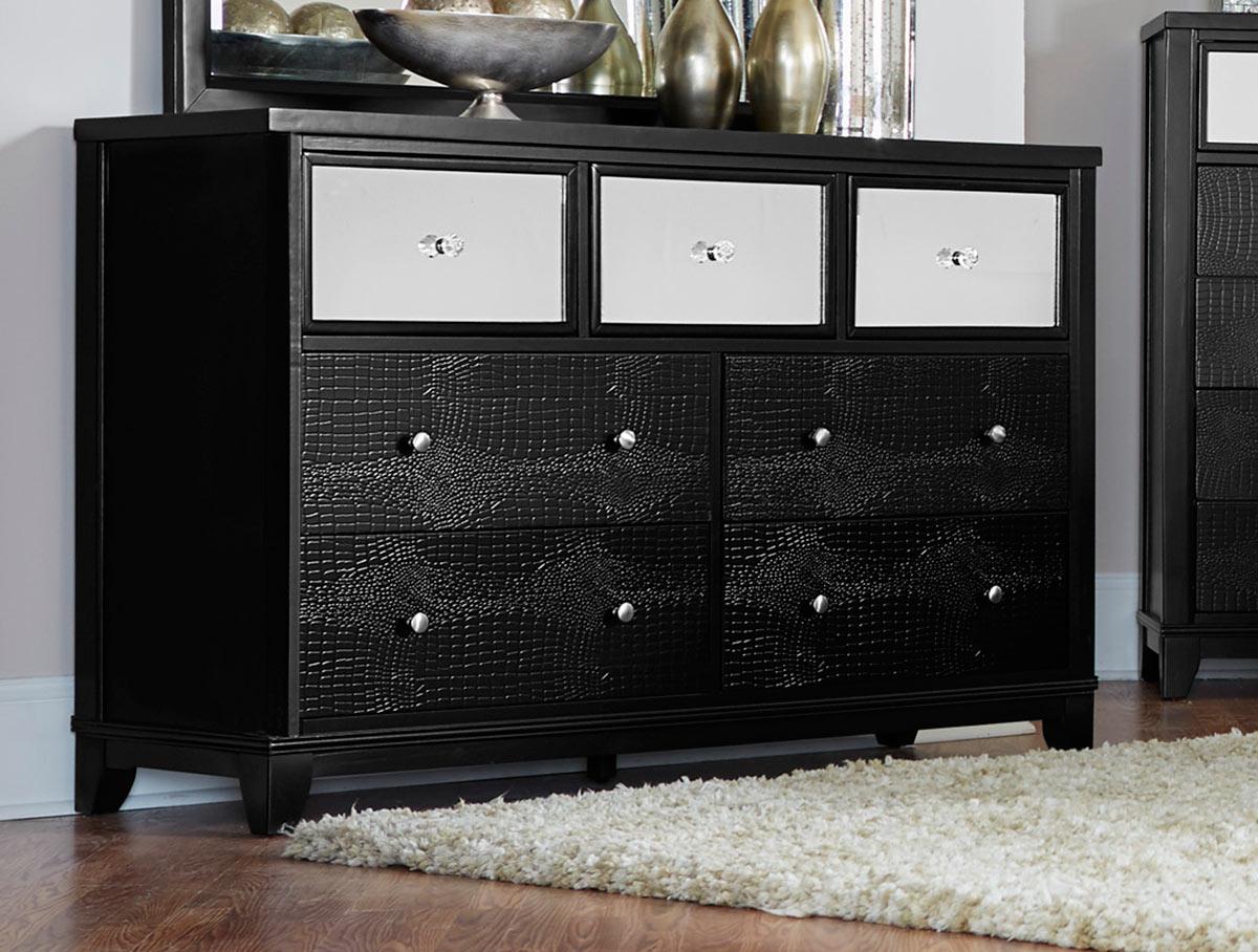 Homelegance Odelia Dresser - Black