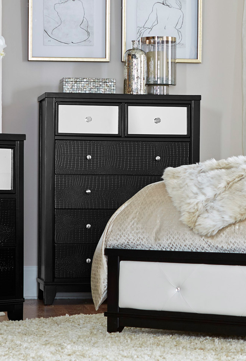 Homelegance Odelia Chest - Black