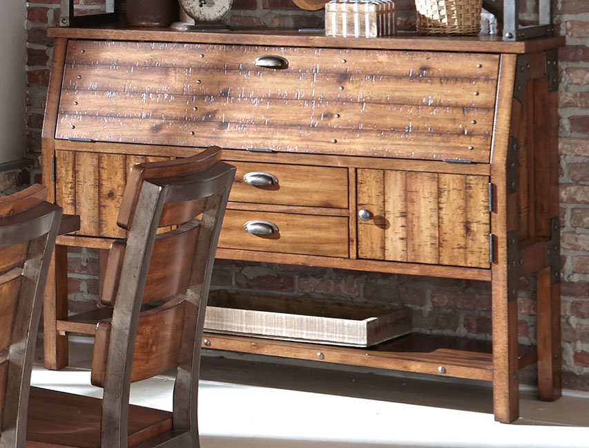 Homelegance Holverson Buffet/Server - Rustic Brown