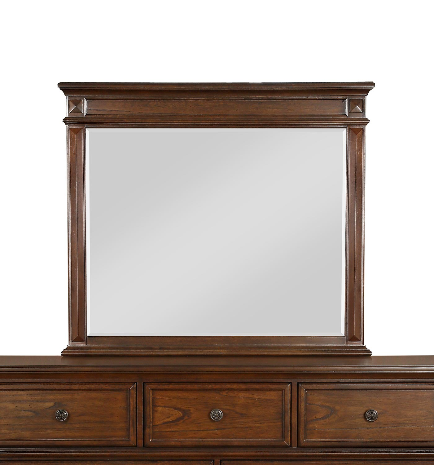 Homelegance Langsat Mirror - Brown