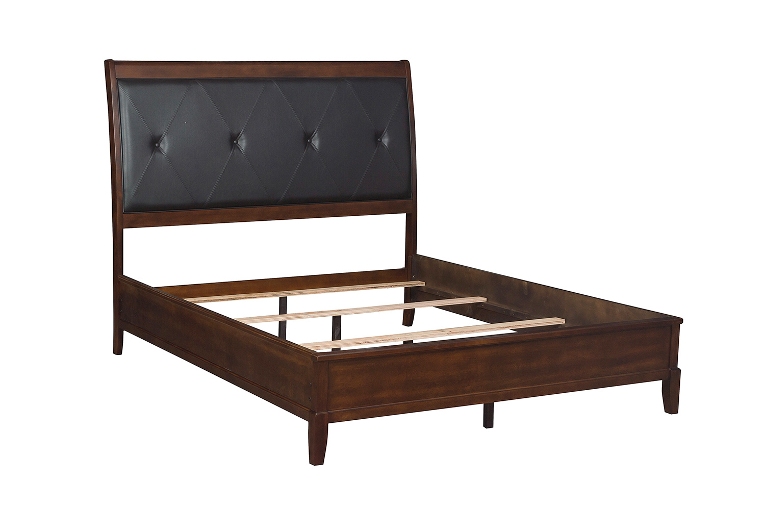 Homelegance Cotterill Bed - Cherry over Birch Veneer