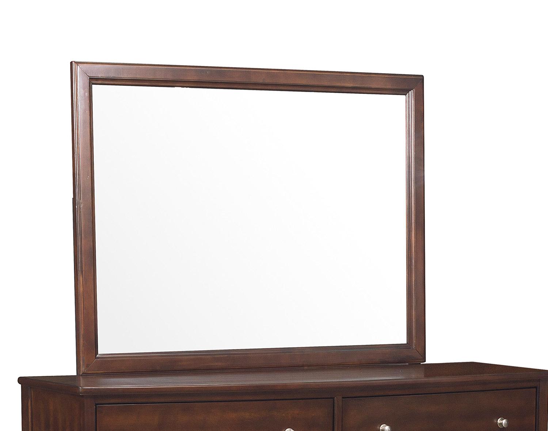 Homelegance Cotterill Mirror - Cherry over Birch Veneer