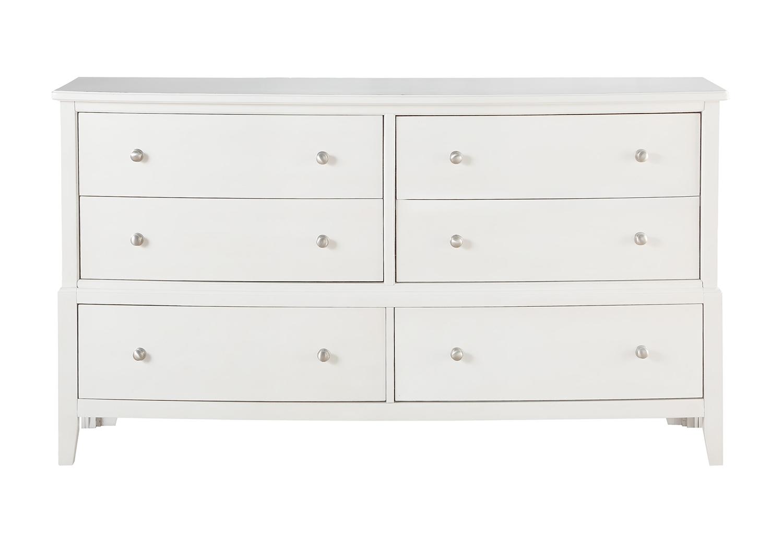 Homelegance Cotterill Dresser - White Finish over Birch Veneer
