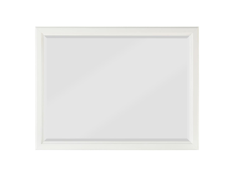 Homelegance Cotterill Mirror - White Finish over Birch Veneer
