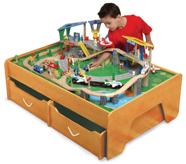 KidKraft Transportation City Set
