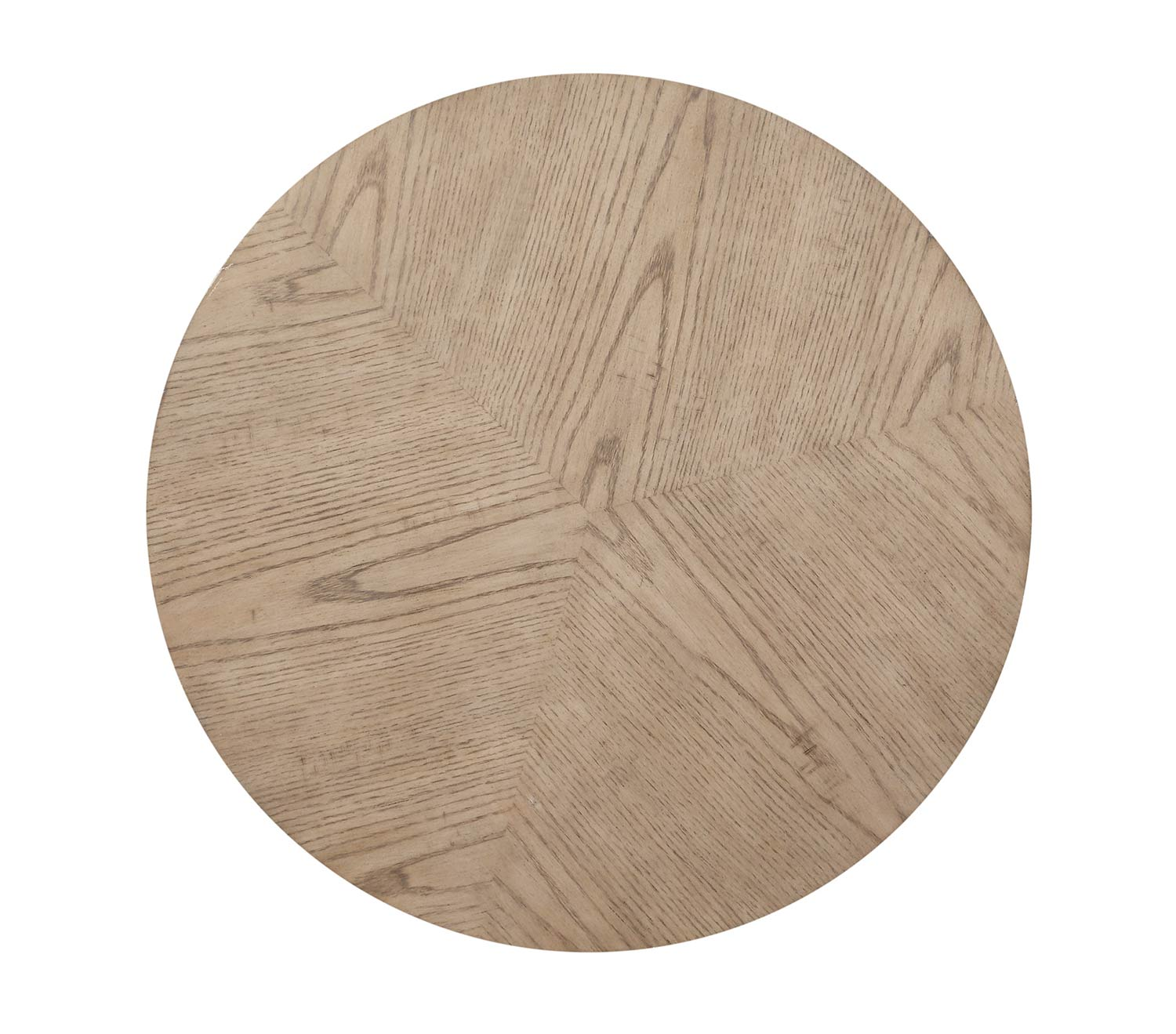Homelegance Liatris Round End Table - Natural Gray