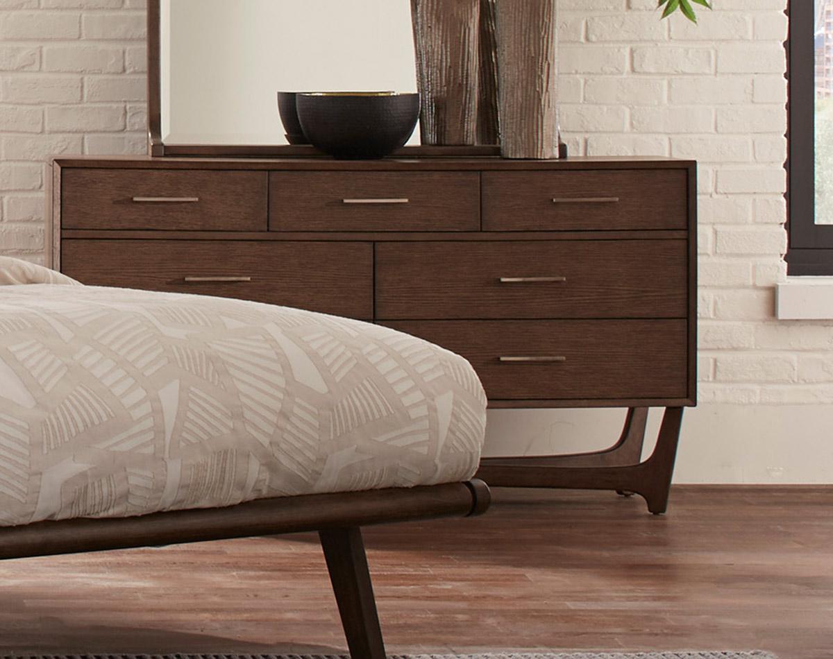 Homelegance Ruote Dresser - Brown-Gray