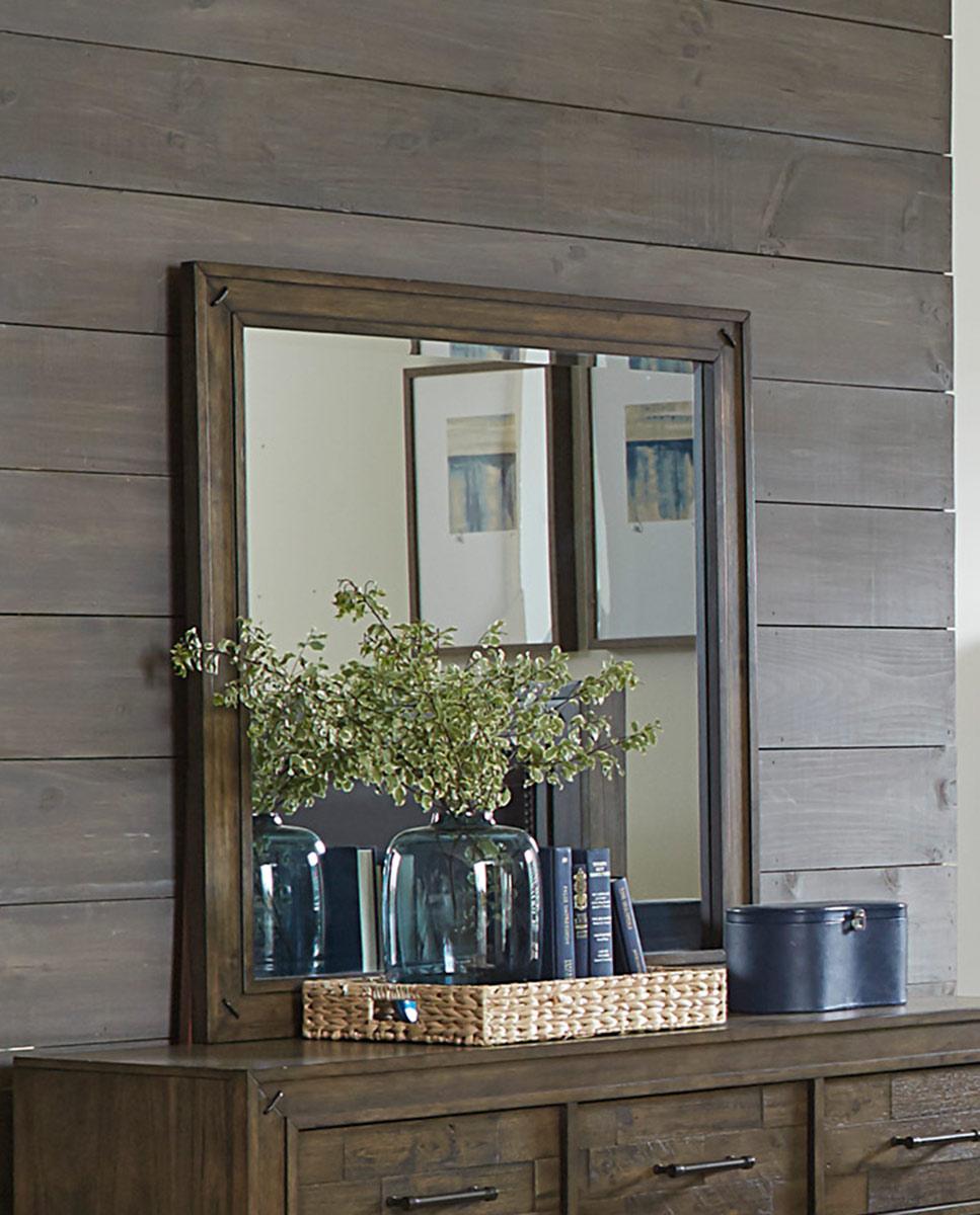 Homelegance Griffon Mirror - Antique Brown
