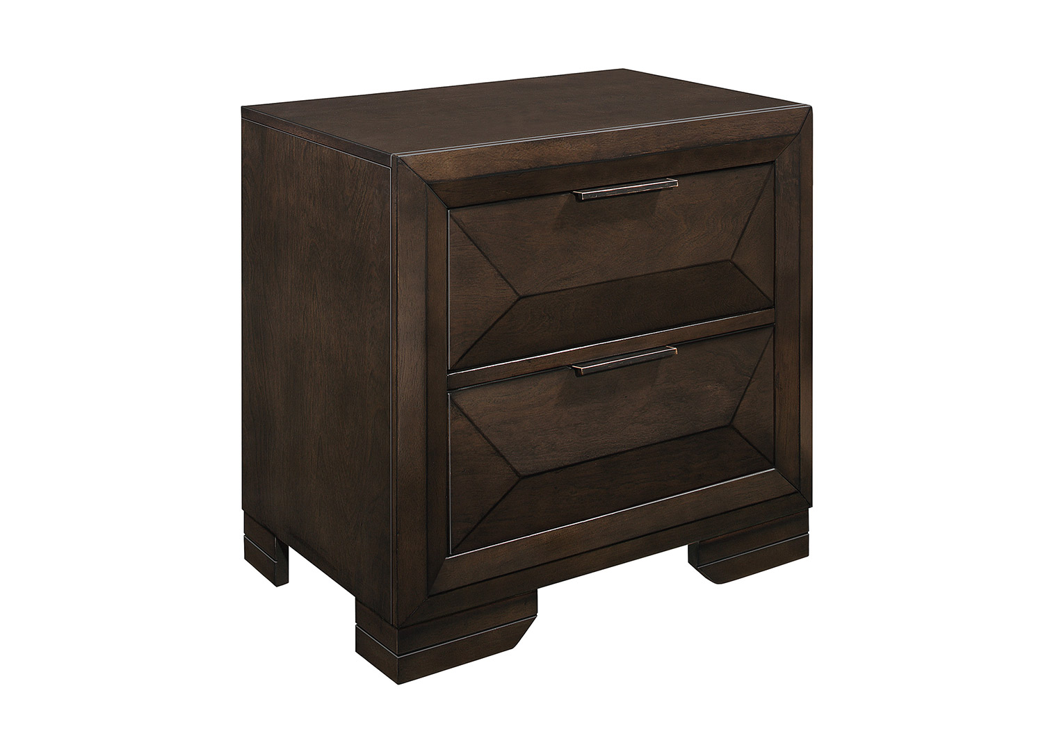 Homelegance Chesky Night Stand - Warm Espresso