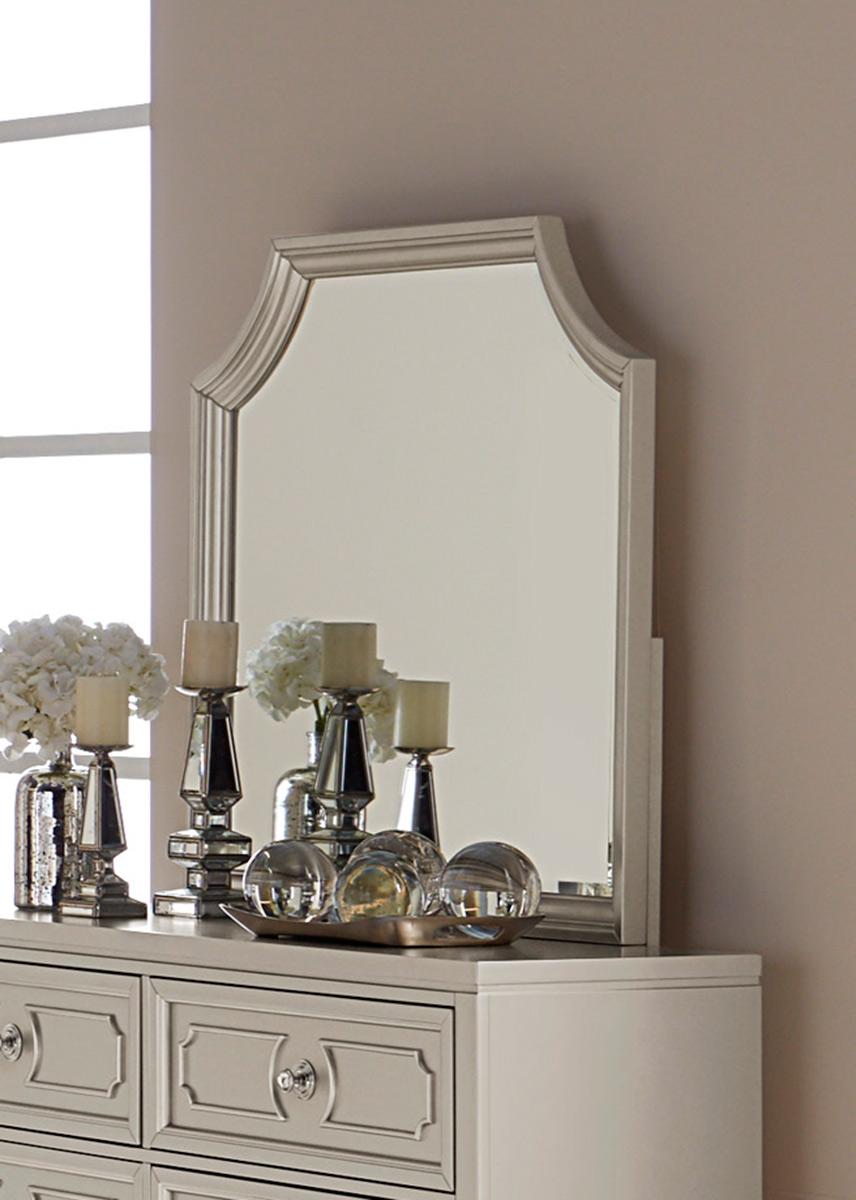 Homelegance Libretto Mirror - Silver