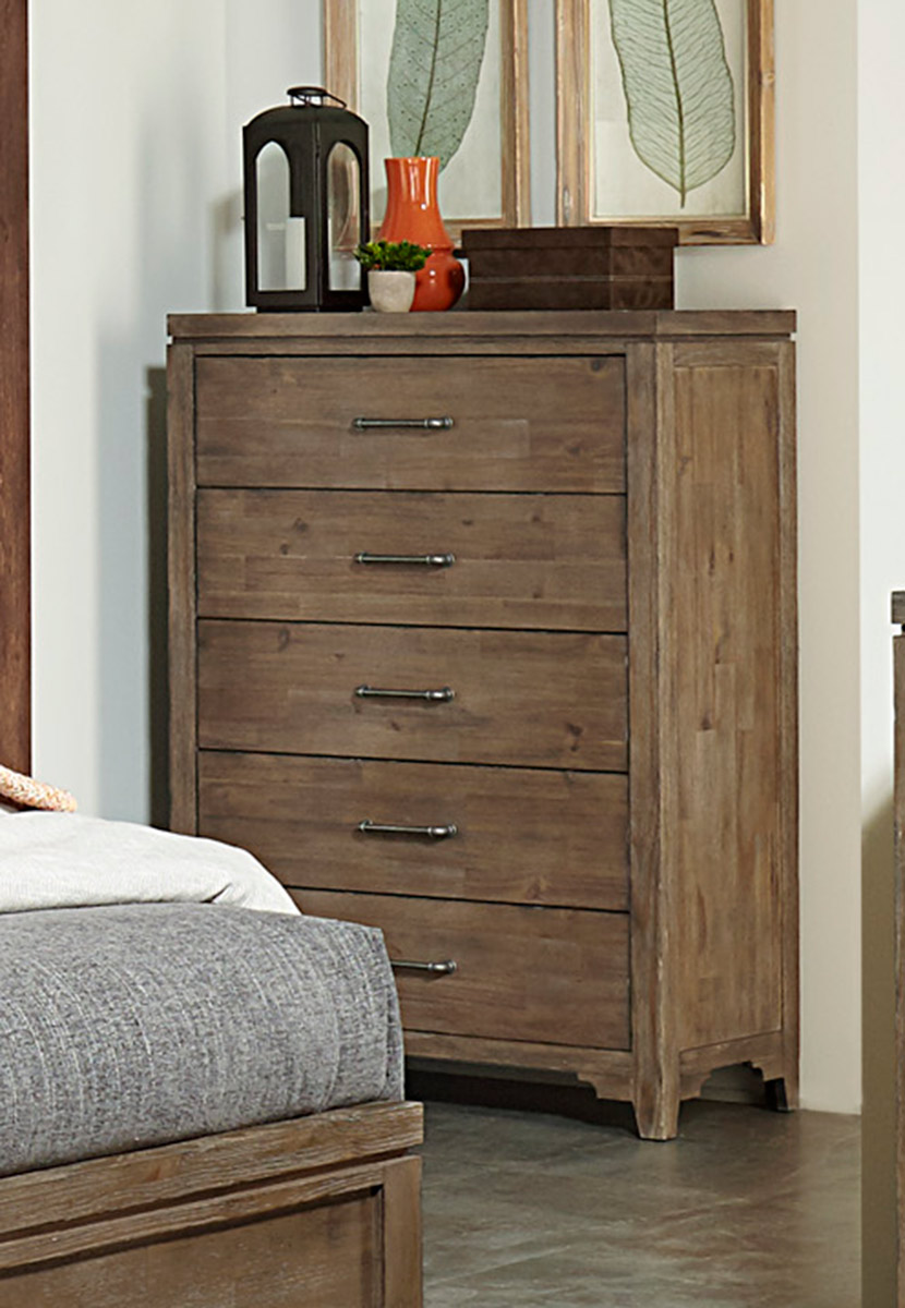 Homelegance Lyer Chest - Rustic Brown