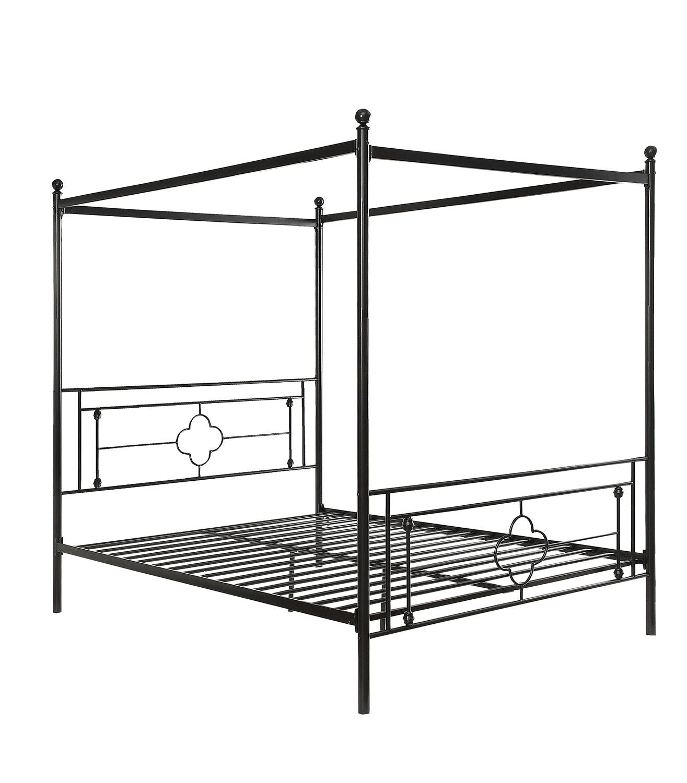 Homelegance Hosta Canopy Platform Bed - Vintage