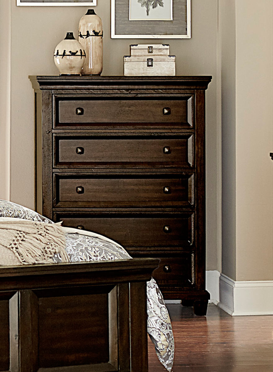 Homelegance Birman Chest - Dark Espresso