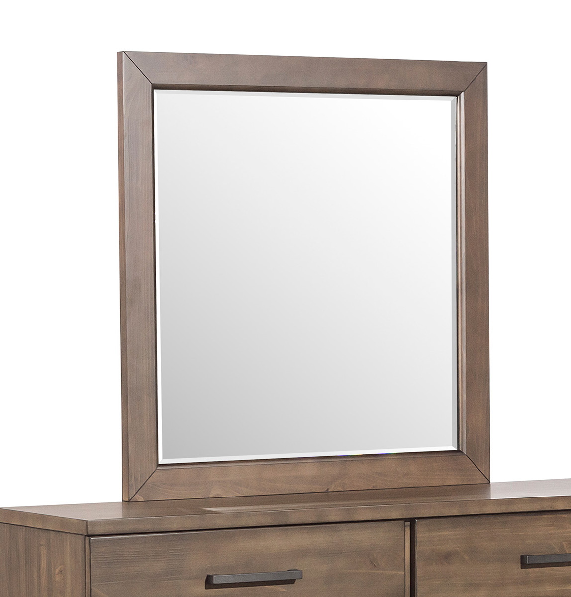 Homelegance Bracco Mirror - Brown