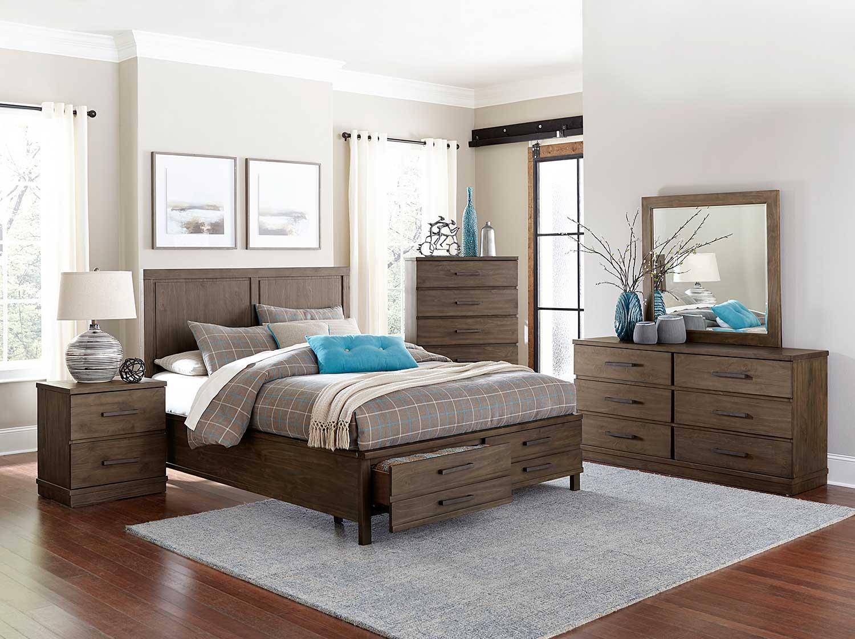 Homelegance Bracco Bedroom Set - Brown