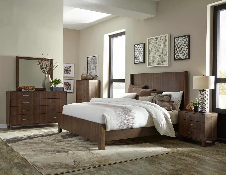 Homelegance Gulfton Bedroom Set - Walnut