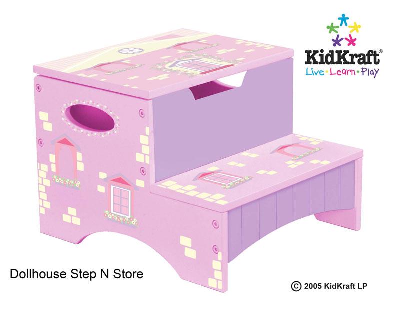 KidKraft Home Sweet Home Dollhouse Step Stool