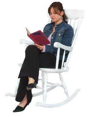 KidKraft Adult Rocking Chair-White