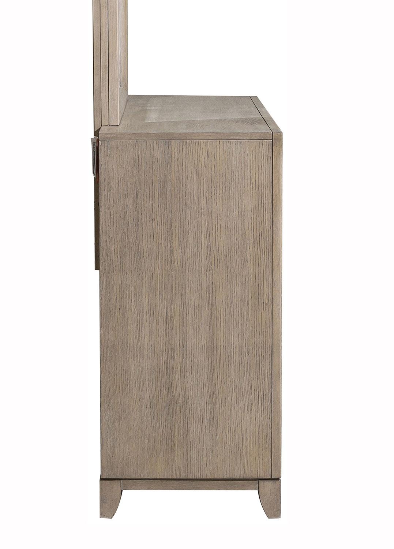 Homelegance McKewen Dresser - Light Gray