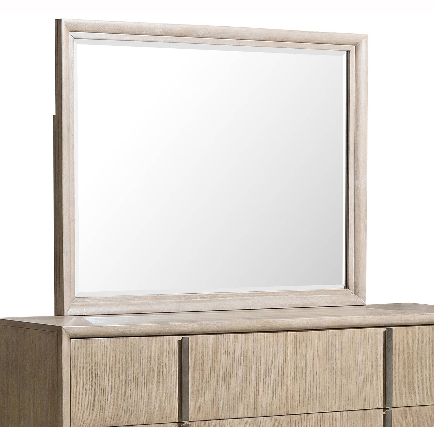 Homelegance McKewen Mirror - Light Gray