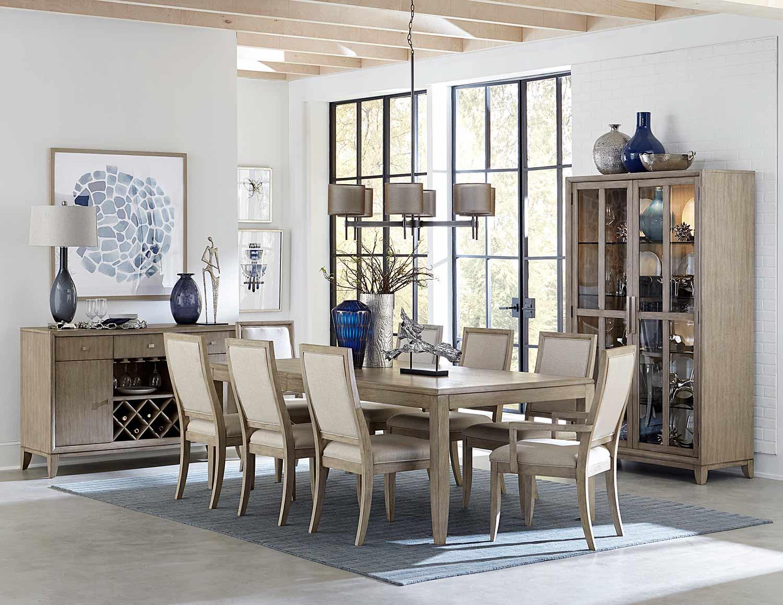 Homelegance McKewen Dining Set - Light Gray