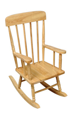 KidKraft Spindle Rocking Chair - Natural