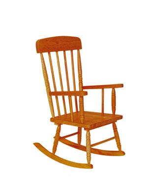 KidKraft Spindle Rocking Chair - Honey