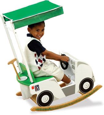 KidKraft PGA Tour Golf Cart Rocker