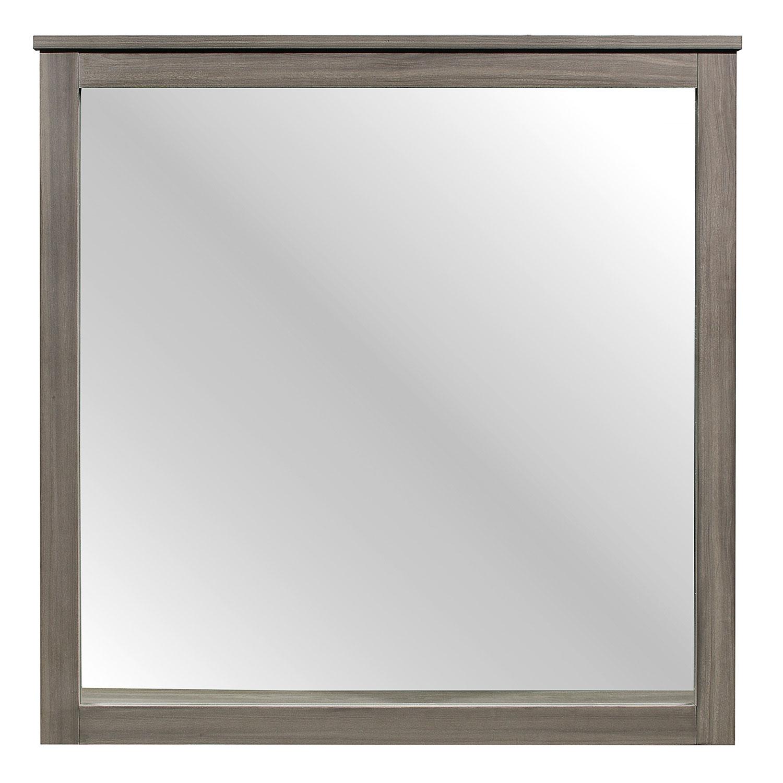 Homelegance Waldorf Mirror - Gray Tone